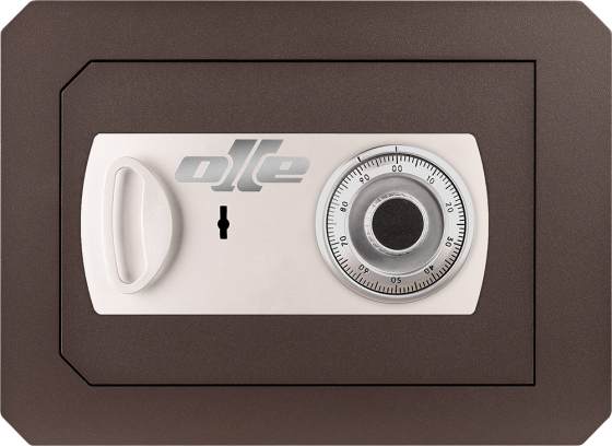 1000 Series - Wall safe - Mechanical and lever lock