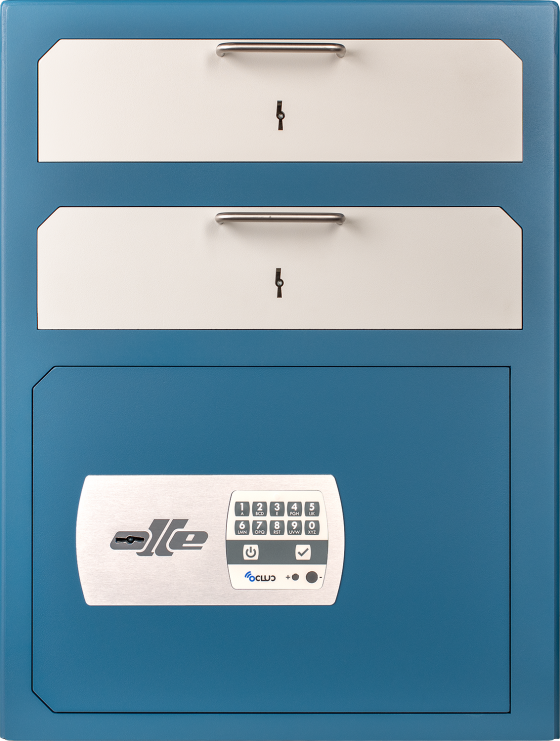 SUB820 Series - Electronic and lever lock
